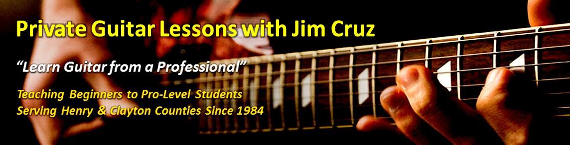 Jim Cruz Guitar Lessons